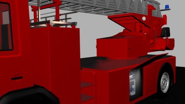 Verlichting van uitrusting compartimenten op brandweer voertuigen ...