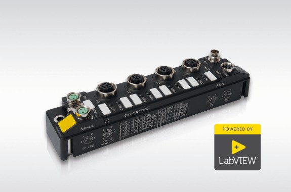 LabVIEW-drivers voor IP67 blok-I/O-modules